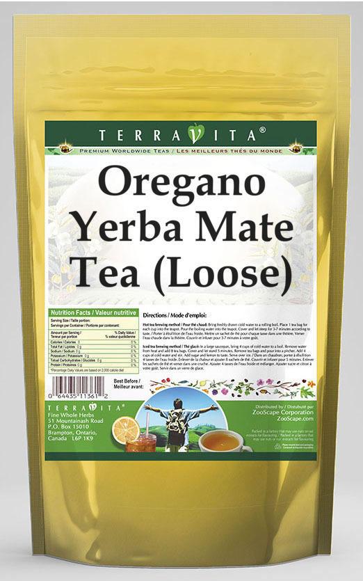 Oregano Yerba Mate Tea (Loose)