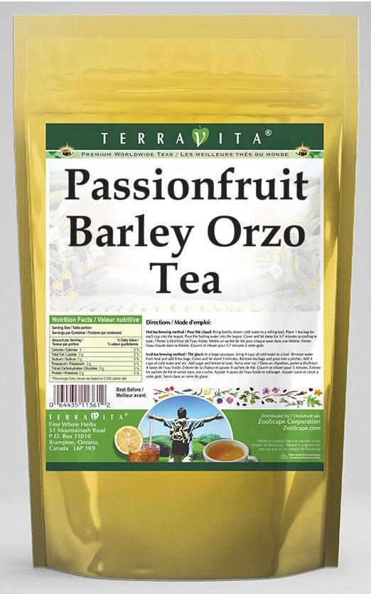 Passionfruit Barley Orzo Tea