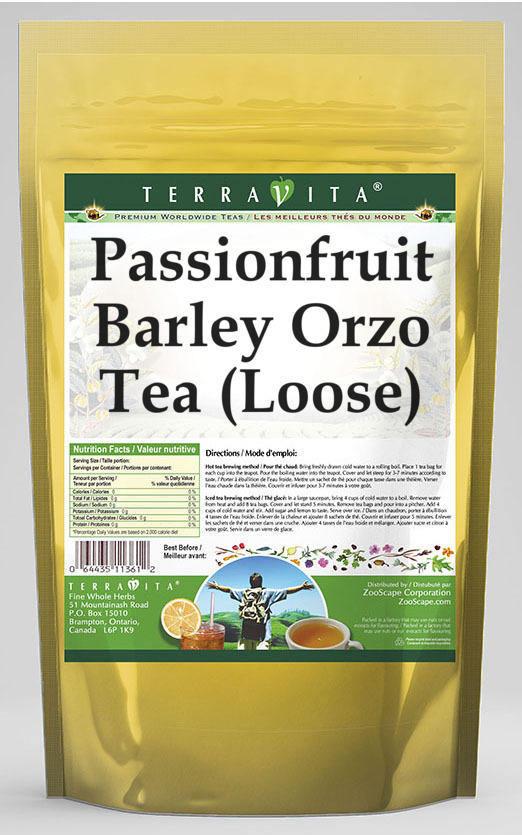 Passionfruit Barley Orzo Tea (Loose)