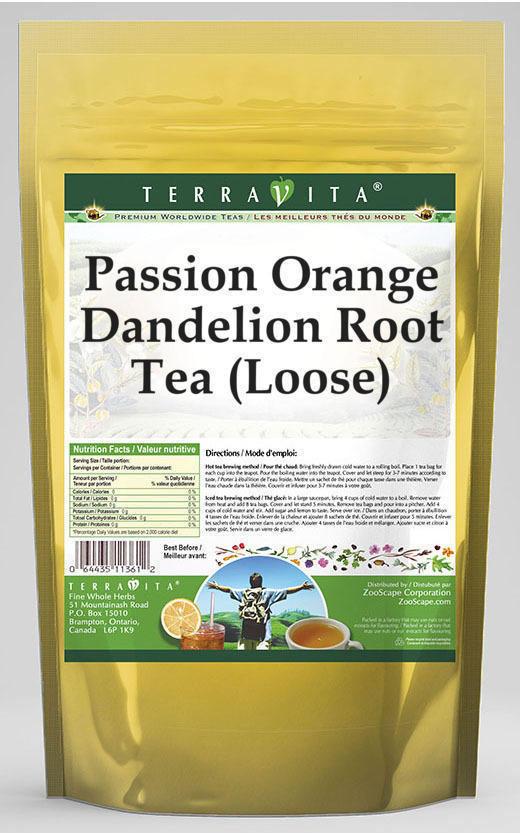 Passion Orange Dandelion Root Tea (Loose)