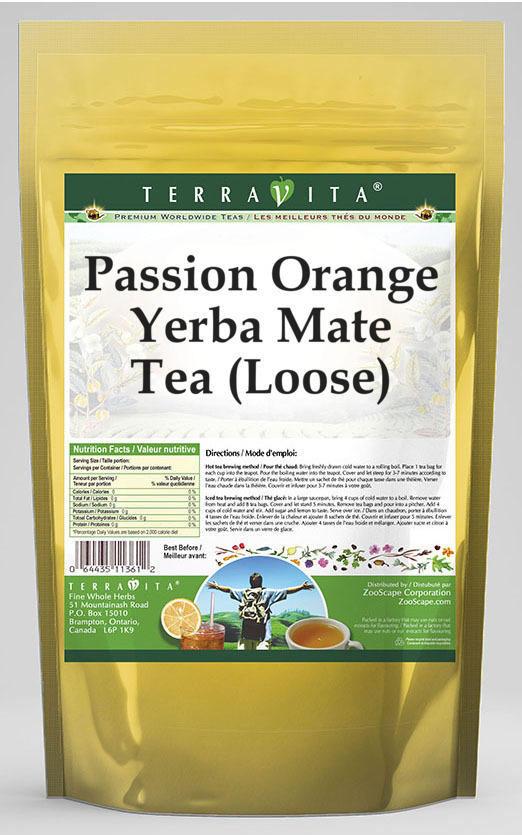 Passion Orange Yerba Mate Tea (Loose)