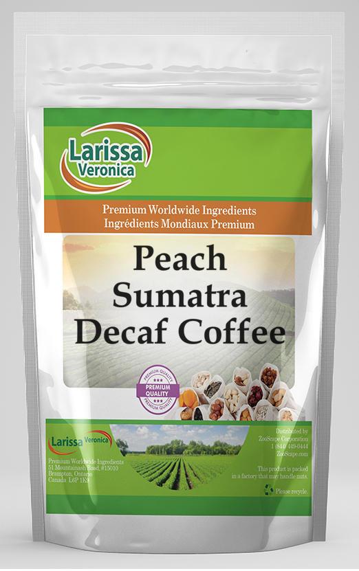 Peach Sumatra Decaf Coffee