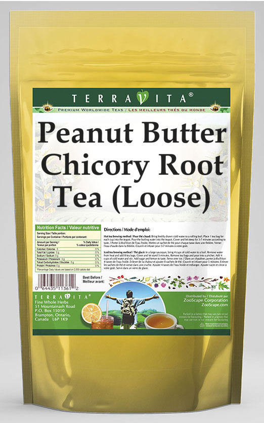 Peanut Butter Chicory Root Tea (Loose)