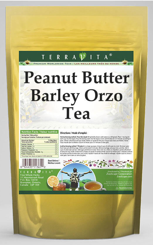 Peanut Butter Barley Orzo Tea