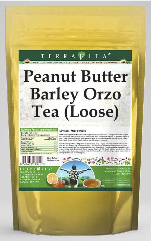 Peanut Butter Barley Orzo Tea (Loose)