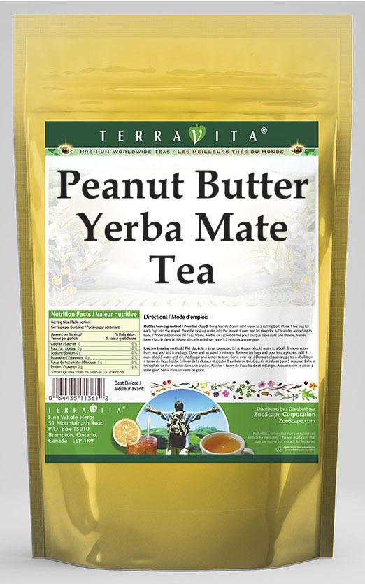 Peanut Butter Yerba Mate Tea