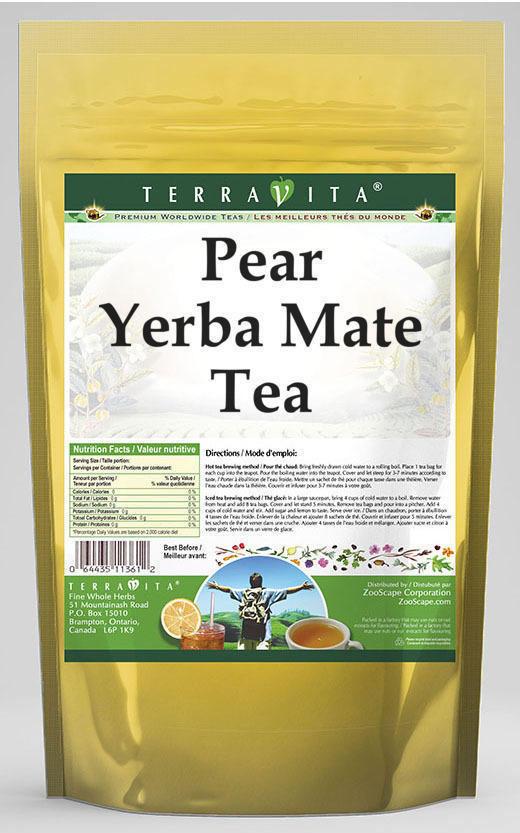 Pear Yerba Mate Tea