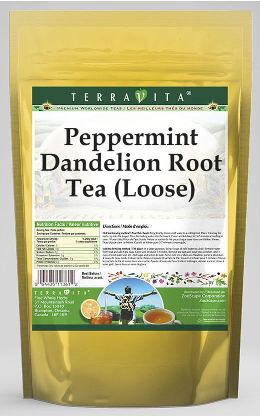 Peppermint Dandelion Root Tea (Loose)