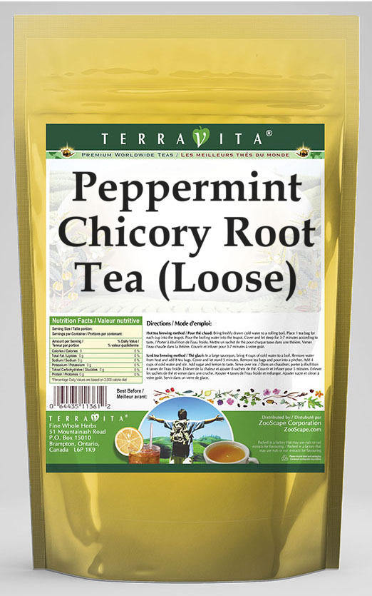Peppermint Chicory Root Tea (Loose)