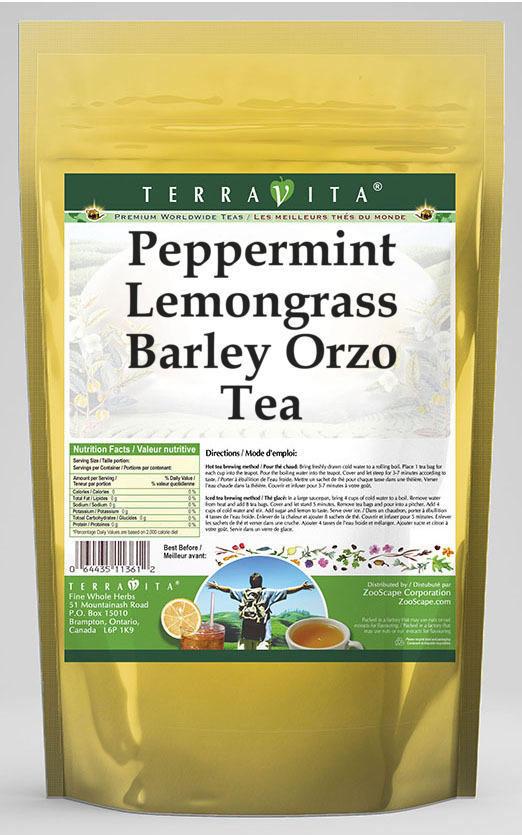 Peppermint Lemongrass Barley Orzo Tea