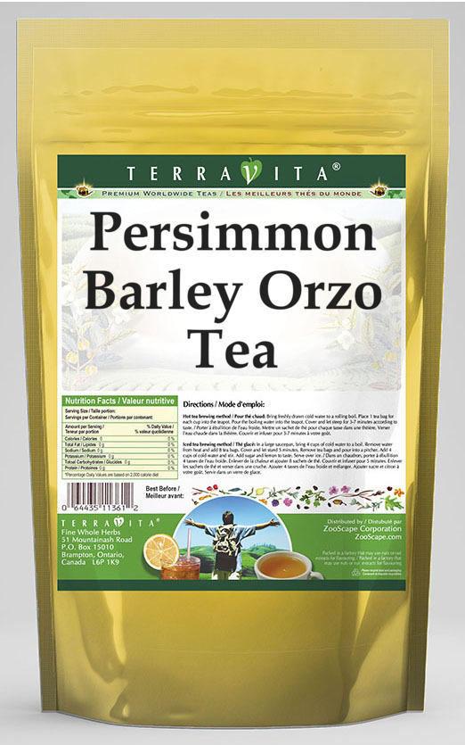Persimmon Barley Orzo Tea