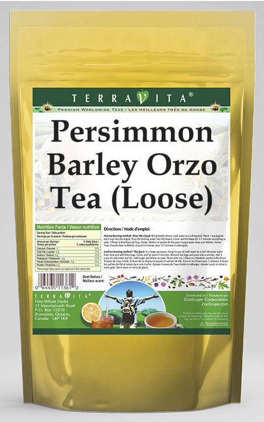 Persimmon Barley Orzo Tea (Loose)