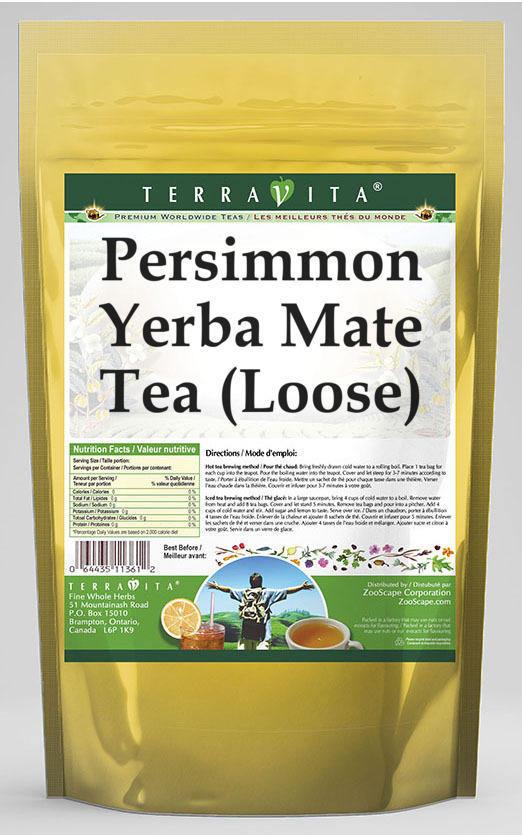 Persimmon Yerba Mate Tea (Loose)