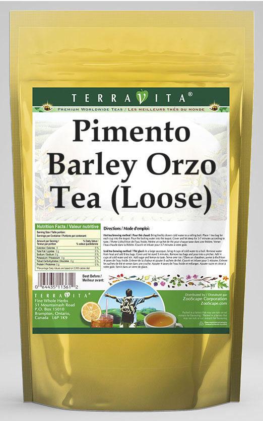 Pimento Barley Orzo Tea (Loose)