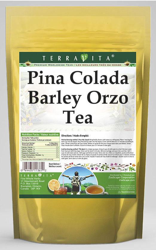 Pina Colada Barley Orzo Tea