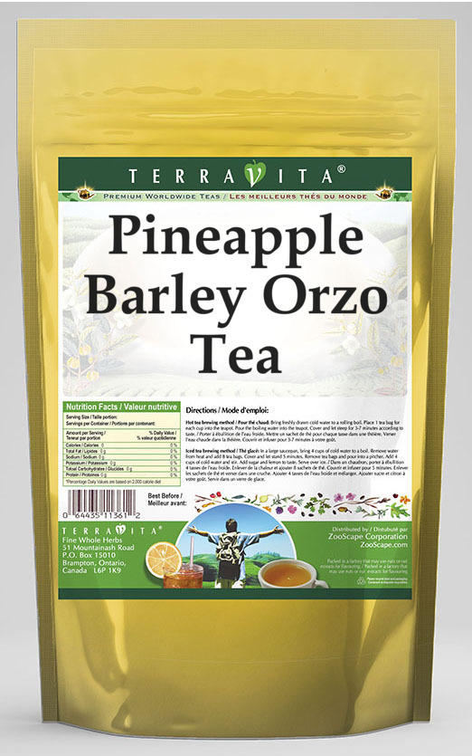 Pineapple Barley Orzo Tea