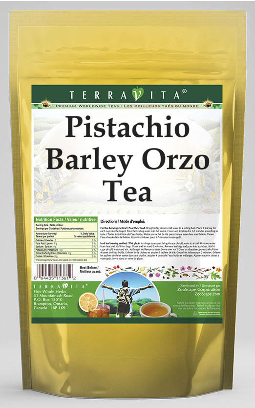 Pistachio Barley Orzo Tea