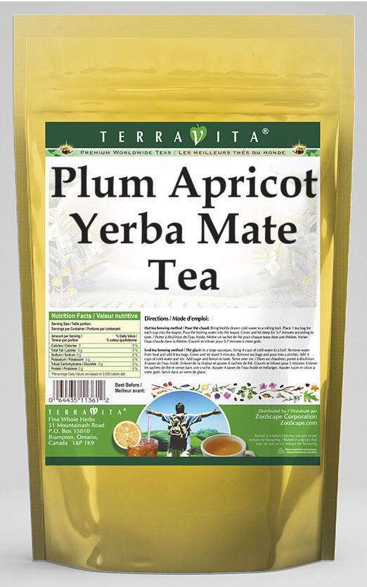 Plum Apricot Yerba Mate Tea