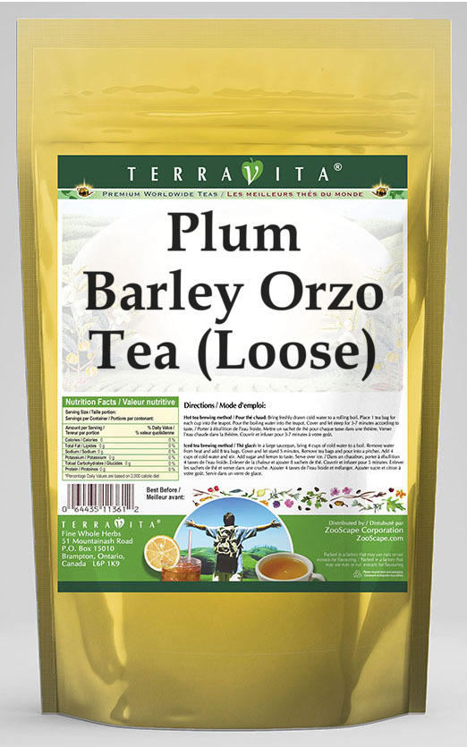 Plum Barley Orzo Tea (Loose)
