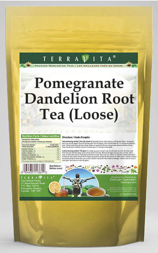 Pomegranate Dandelion Root Tea (Loose)