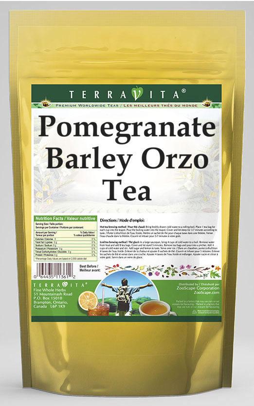 Pomegranate Barley Orzo Tea