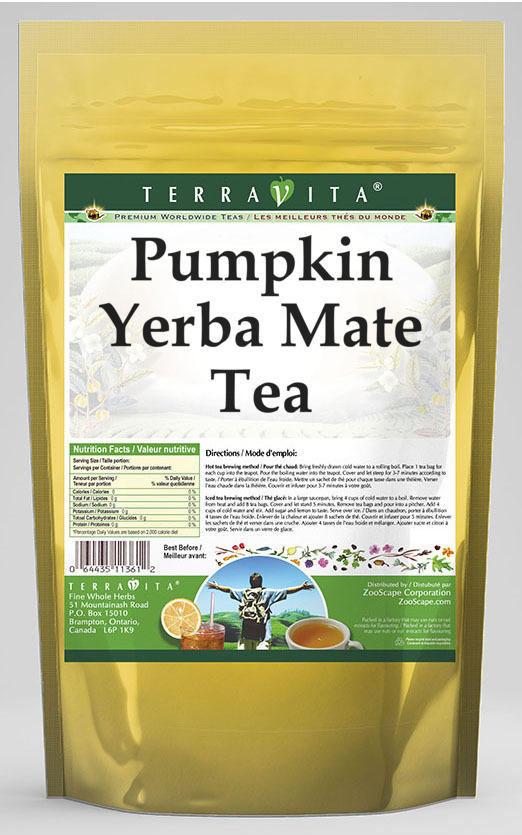 Pumpkin Yerba Mate Tea