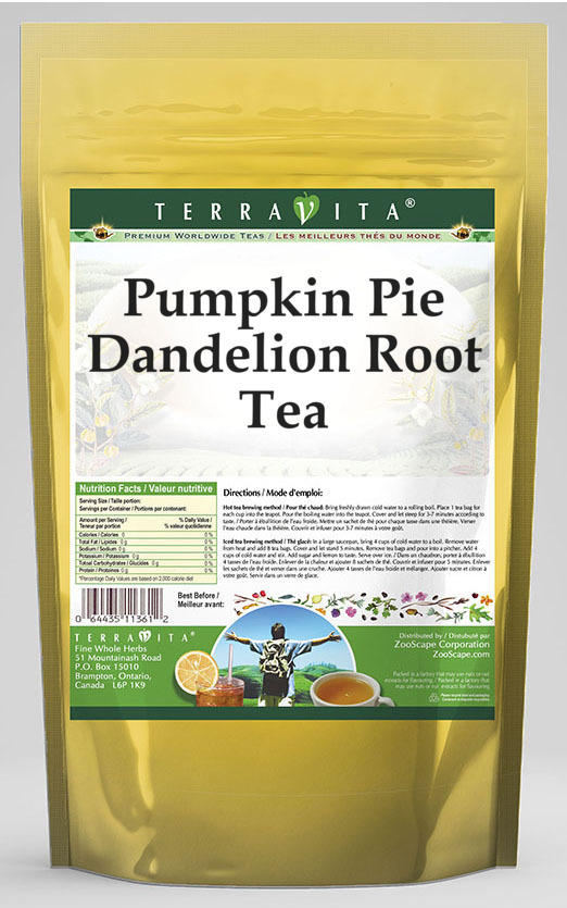 Pumpkin Pie Dandelion Root Tea