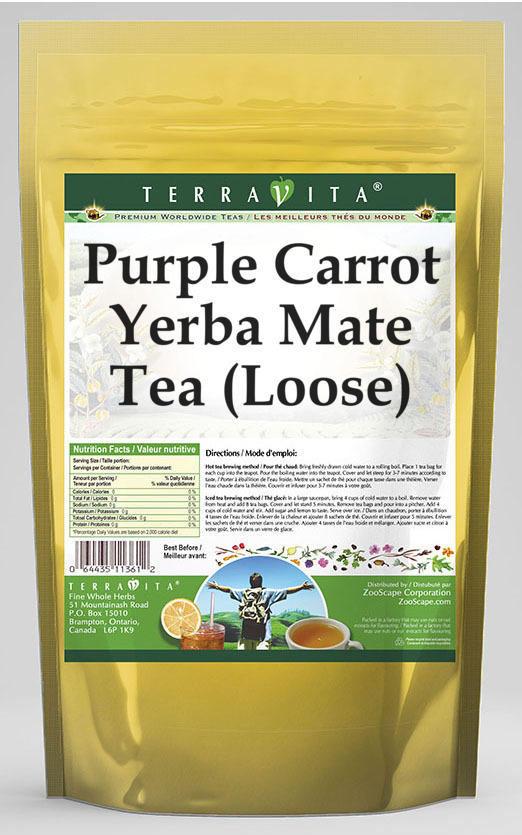 Purple Carrot Yerba Mate Tea (Loose)