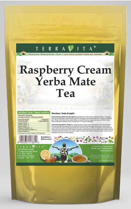 Raspberry Cream Yerba Mate Tea