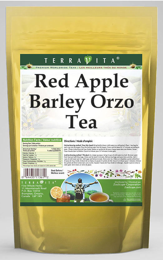 Red Apple Barley Orzo Tea