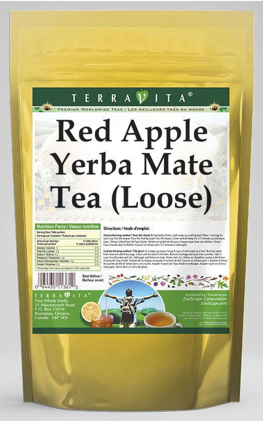 Red Apple Yerba Mate Tea (Loose)