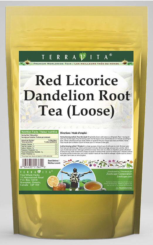 Red Licorice Dandelion Root Tea (Loose)