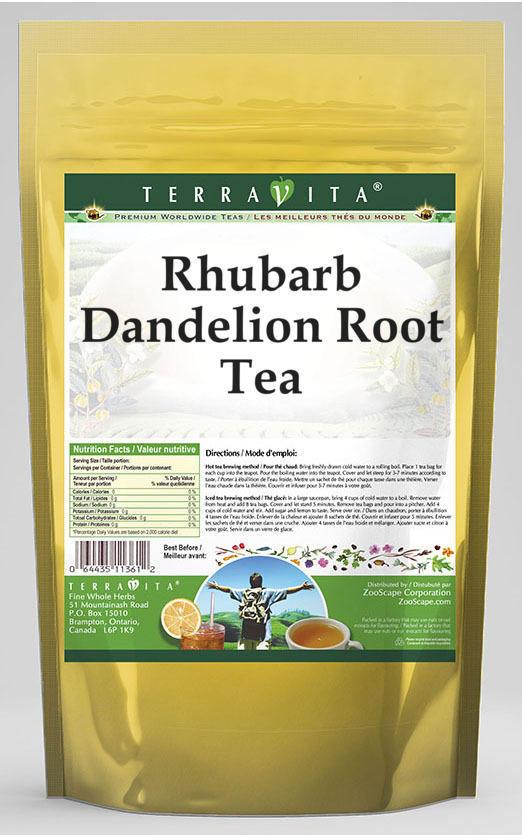 Rhubarb Dandelion Root Tea
