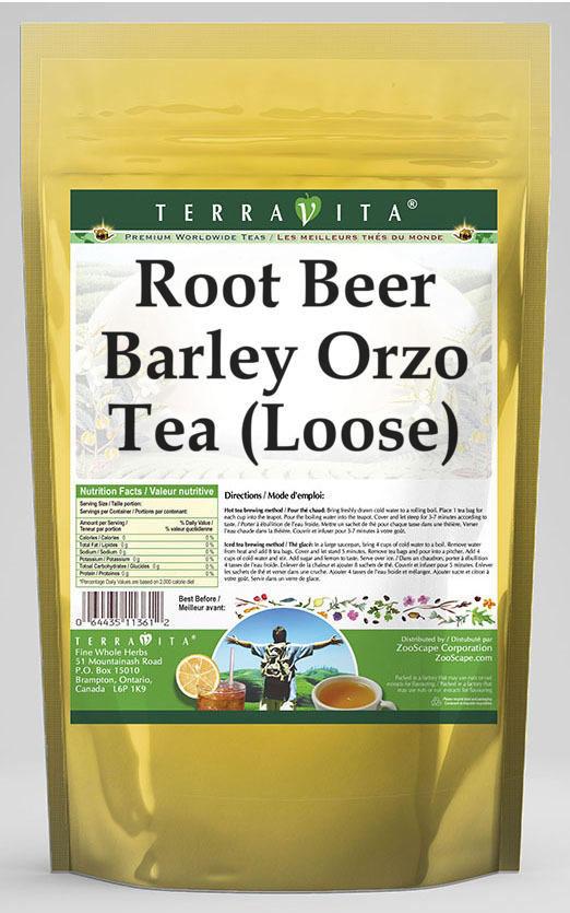 Root Beer Barley Orzo Tea (Loose)