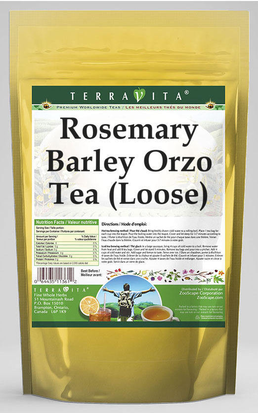 Rosemary Barley Orzo Tea (Loose)