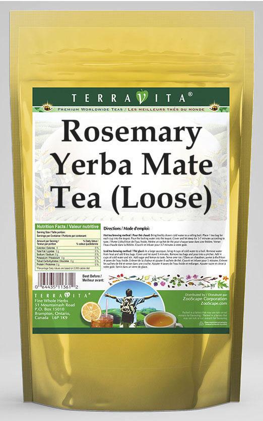 Rosemary Yerba Mate Tea (Loose)