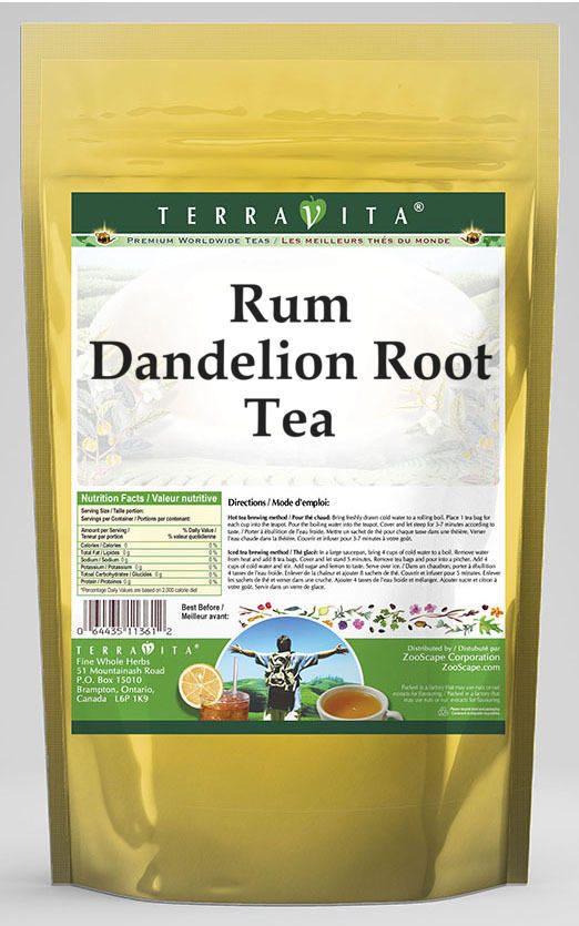 Rum Dandelion Root Tea