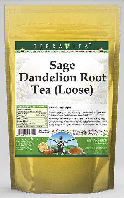 Sage Dandelion Root Tea (Loose)