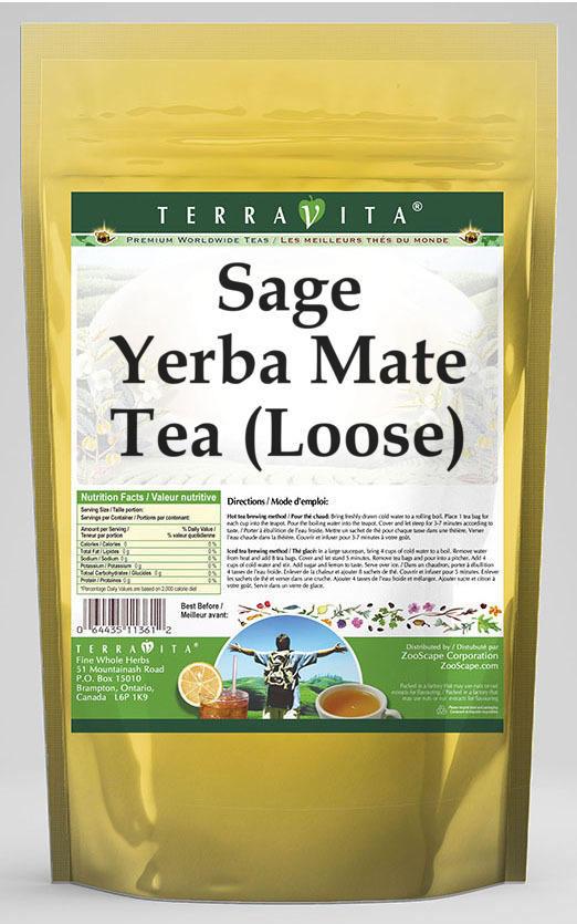 Sage Yerba Mate Tea (Loose)