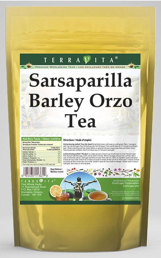 Sarsaparilla Barley Orzo Tea