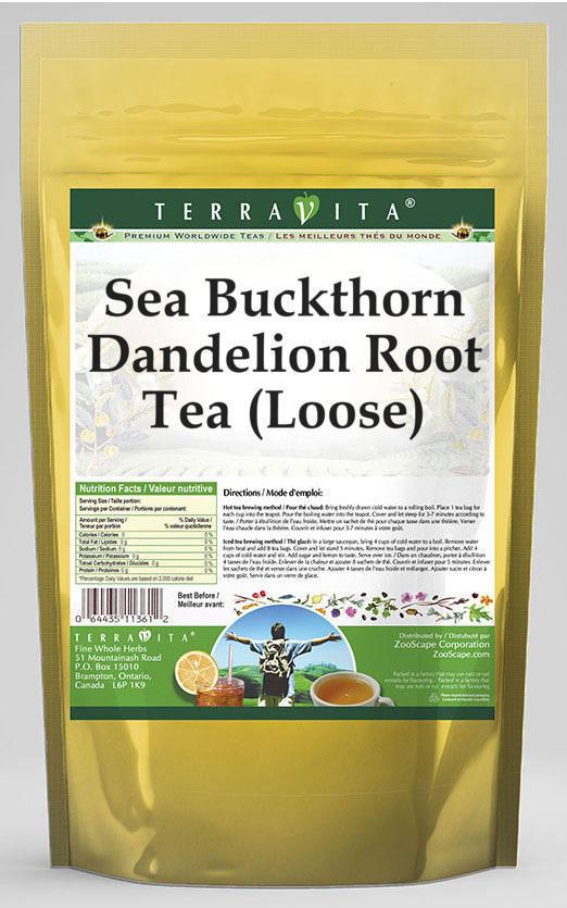 Sea Buckthorn Dandelion Root Tea (Loose)