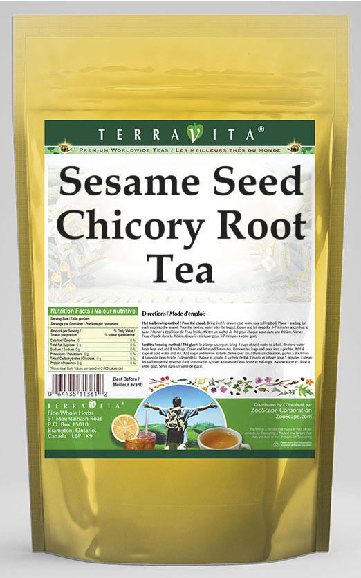 Sesame Seed Chicory Root Tea