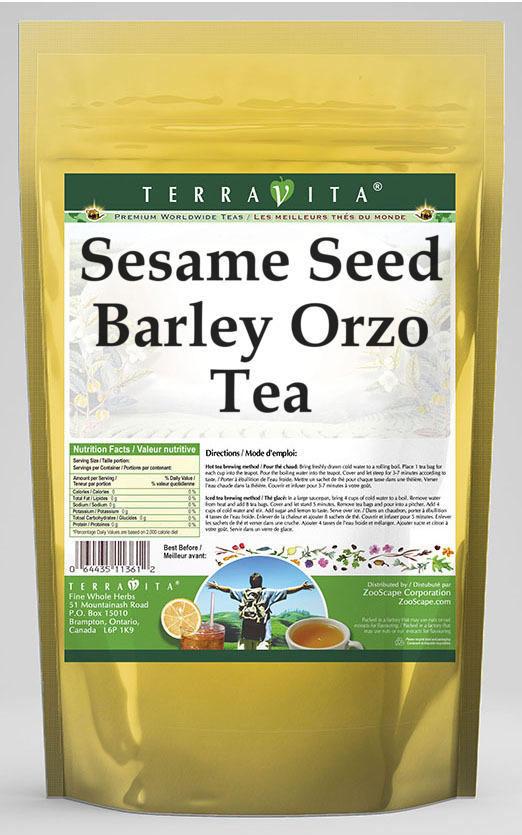 Sesame Seed Barley Orzo Tea