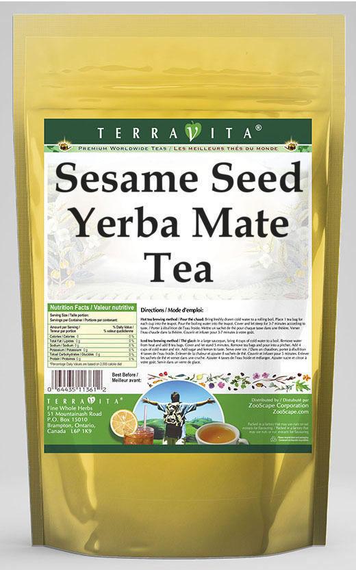 Sesame Seed Yerba Mate Tea