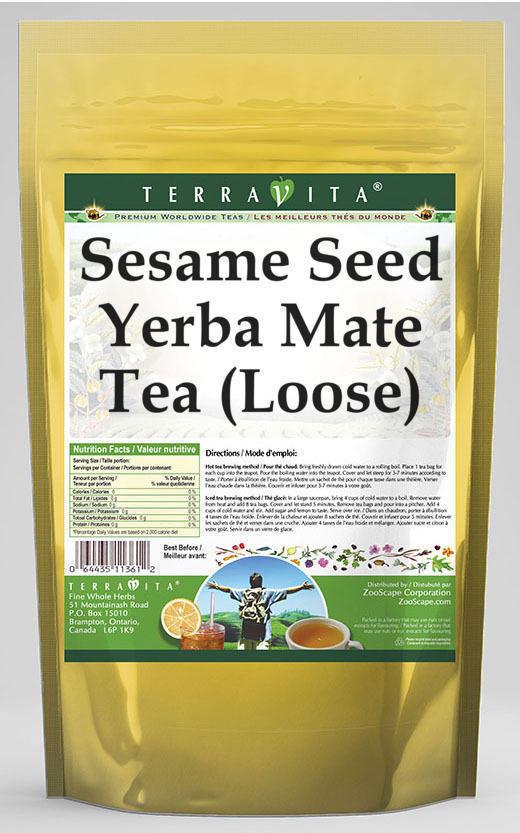 Sesame Seed Yerba Mate Tea (Loose)