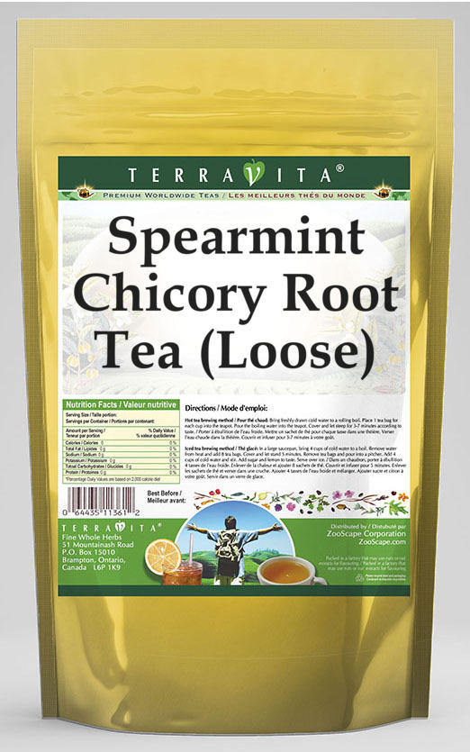 Spearmint Chicory Root Tea (Loose)