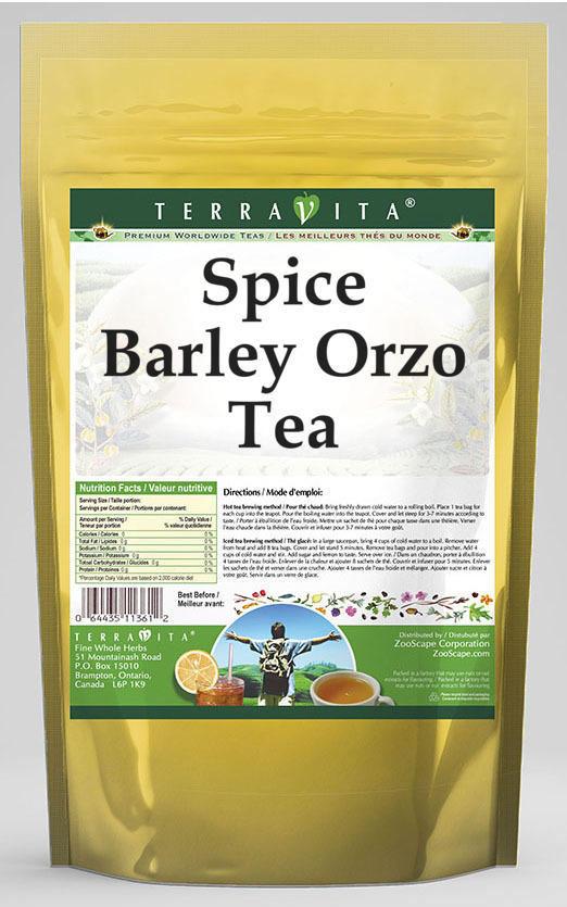 Spice Barley Orzo Tea