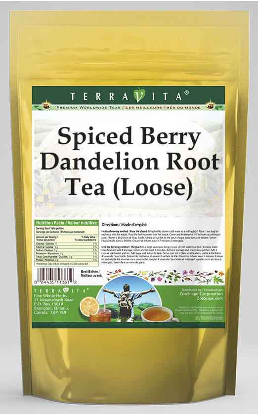 Spiced Berry Dandelion Root Tea (Loose)