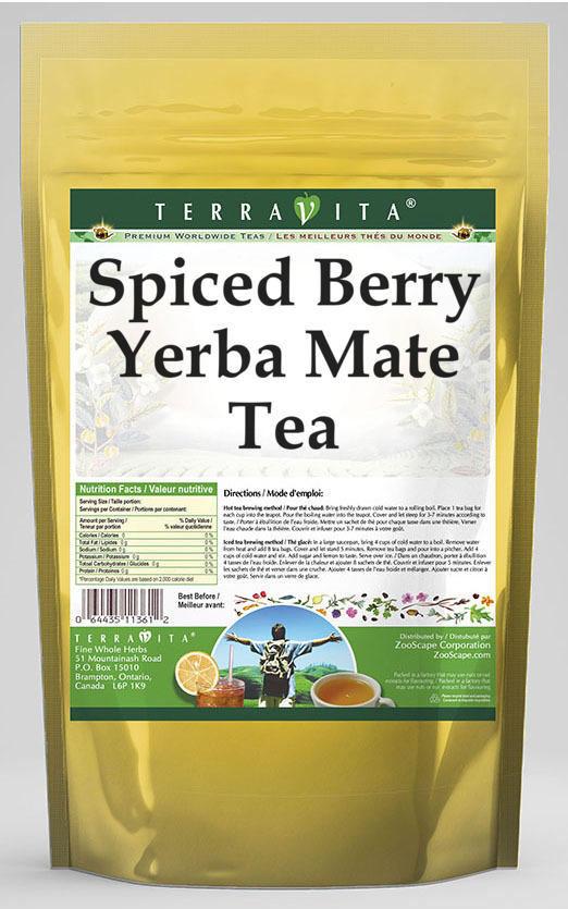 Spiced Berry Yerba Mate Tea