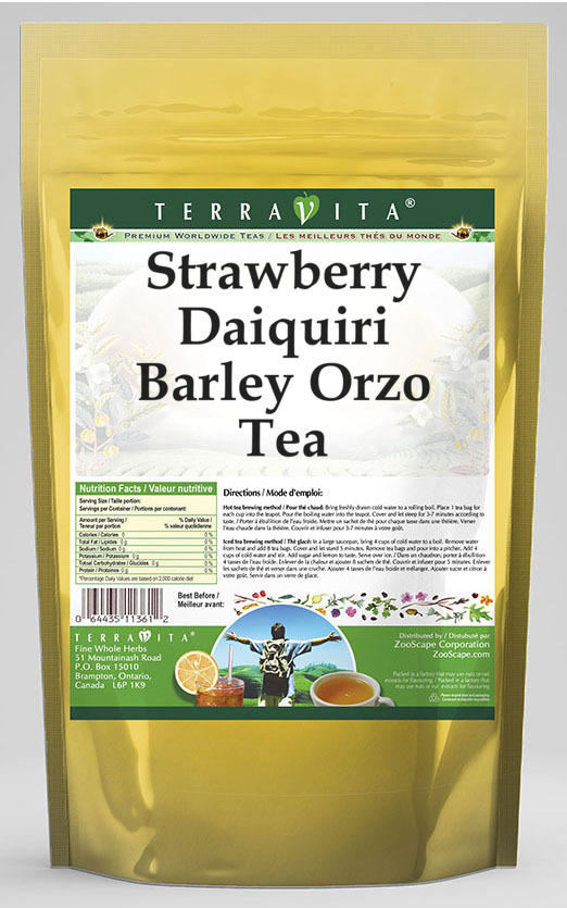 Strawberry Daiquiri Barley Orzo Tea